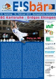 BG Karlsruhe : Erdgas Ehingen
