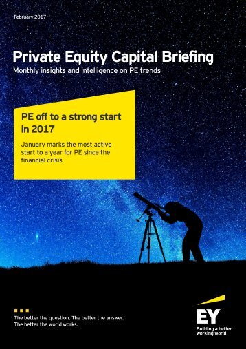 Private Equity Capital Briefing