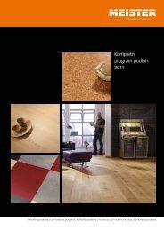 Kompletní program podlah 2011 - Podlahy Meister