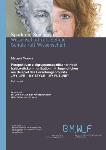 Melanie Wawra Perspektiven ... - Sparkling Science