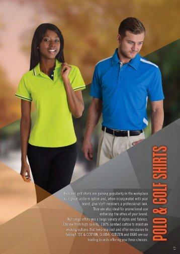 Proactive-Polos & Golfers