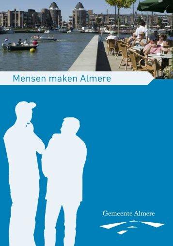 Mensen maken Almere boekje - Gemeente Almere