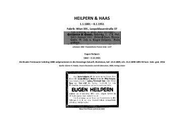HEILPERN & HAAS - Althofen
