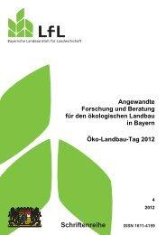 Angewandte Forschung und Beratung für den ökologischen ...