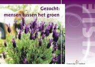 Gezocht: mensen tussen het groen - Productschap Tuinbouw