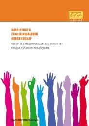naar herstel en gelijkwaardig burgerschap - GGZ Nederland
