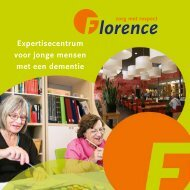 Expertisecentrum voor jonge mensen met een dementie - Florence