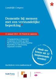 Dementie bij mensen met een verstandelijke beperking - StudieArena