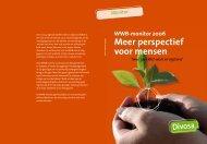 WWB-monitor 2006 Meer perspectief voor mensen - Divosa