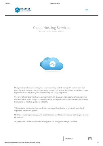 Remote Hosting
