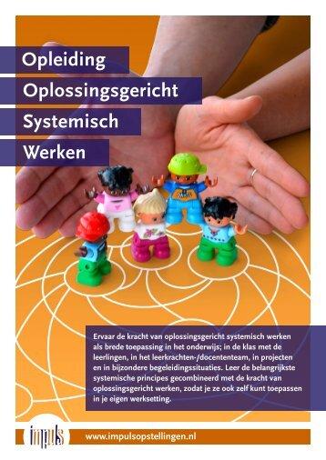 Impuls - Opleiding Systemisch Werken najaar 2017