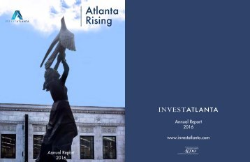 Invest Atlantanta Annual Report 2016