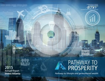 Invest Atlanta Annual Report 2015