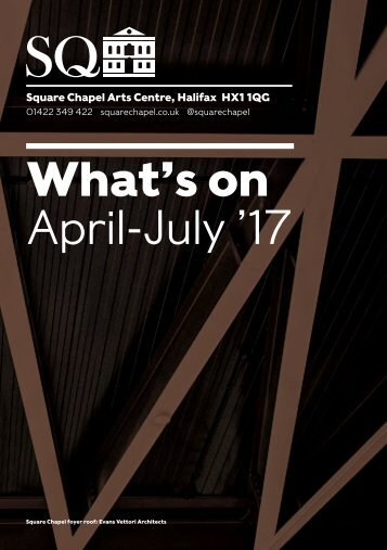 What's on April-July '17