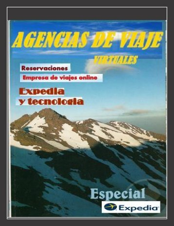 Agencias de viajes .