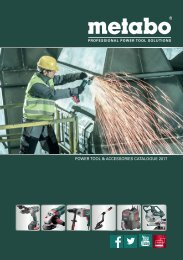 POWER TOOL & ACCESSORIES CATALOGUE 2017