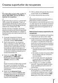 Sony VPCEJ2B1E - VPCEJ2B1E Guide de dépannage Roumain - Page 5
