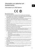 Sony VPCEJ2B1E - VPCEJ2B1E Documents de garantie Suédois - Page 5