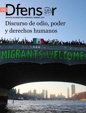 Discurso de odio poder y derechos humanos