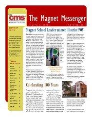 The Magnet Messenger - Charlotte-Mecklenburg Schools