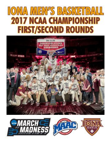 IONA MEN'S BASKETBALL