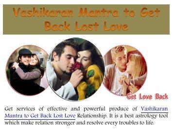 Love Back Specialist Astrologer