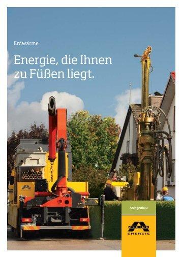 Alpine Energie Erdsondenbohrung - Wiehl Heizung Sanitär Wiehl ...
