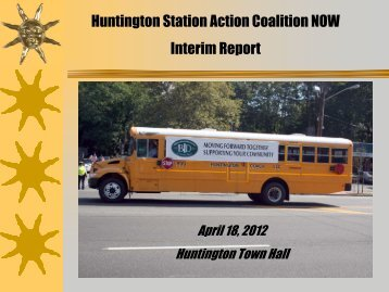Huntington Station Action Coalition NOW Interim Report