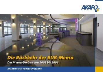 Die Rückkehr der RUB-Mensa - AkaFö