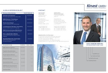 DAS INGENIEURBÜRO - Kinast GmbH