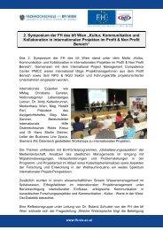 Kultur, Kommunikation und Kollaboration in internationalen ...
