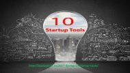Top 10 Startup Tools