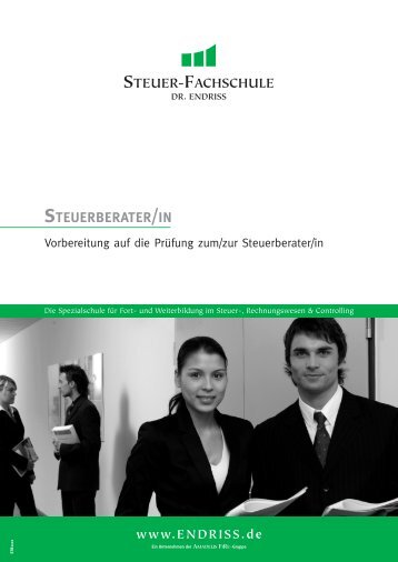 STEUERBERATER/IN - Steuer-Fachschule Dr. Endriss
