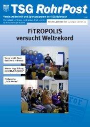 nähe Kaufland Tel.: 0 62 21 / 30 00 22 E-Mail - TSG Heidelberg ...