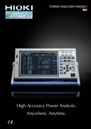 High Accuracy Power Analysis Anywhere Anytime
