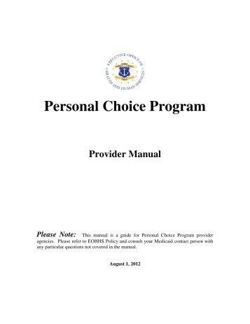 Medicaid Rhode Island Provider Manual