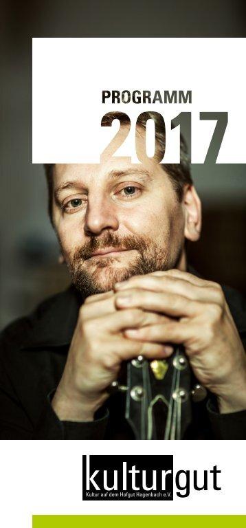 kulturgut e.V. | Programm Spielzeit 2017