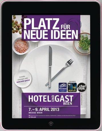 Salesfolder - Hotel & Gast Wien
