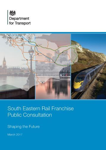 South Eastern Rail Franchise Public Consultation