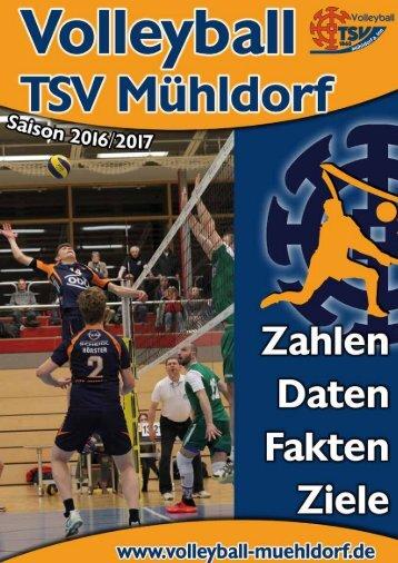 Volleyball-Broschüre 2016/17