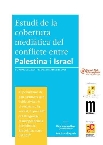 Estudi de la cobertura mediàtica del conflicte entre Palestina i Israel
