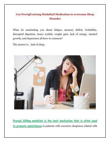 Buy Provigil Modafinil 200MG Online at GenericEPharmacy in USA UK