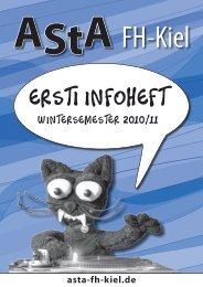 Ersti Infoheft - AStA der FH-KIEL