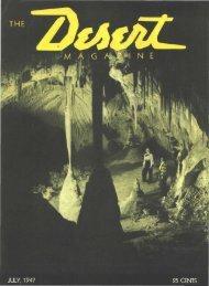 194707-DesertMagazin.. - Desert Magazine of the Southwest