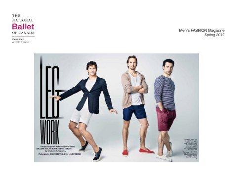Men's FASHION Magazine Spring 2012 - The National Ballet of ...