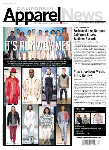Men's Fashion Week: Is LA Ready? - California Apparel News