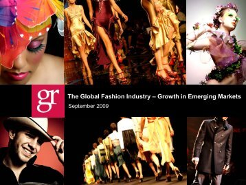 The Global Fashion Industry - Grail Research