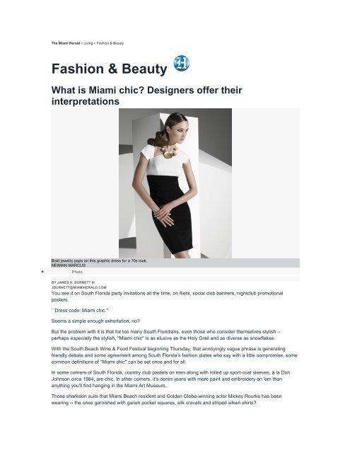 Fashion Beauty Miami Beach International Fashion Week