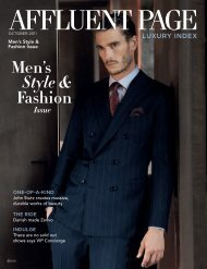 Men's Style & Fashion Issue