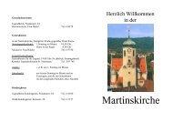 Willkommensheft der Martinskirchengemeinde (140KB)